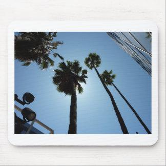 Tapis De Souris Palmiers Los Angeles Hollywood Etats-Unis