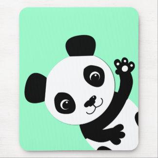 Tapis De Souris Panda de ondulation