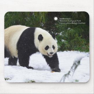 Tapis De Souris Pandas géants de Smithsonien | dans la neige