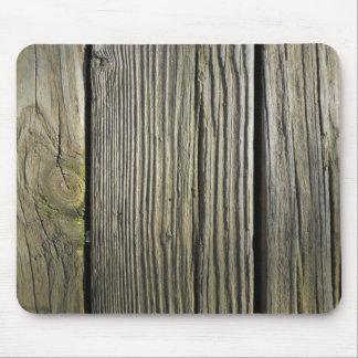Tapis De Souris Panneau de plate-forme en bois patiné rustique de