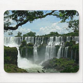Tapis De Souris Panoramique des chutes d'Iguaçu