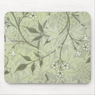 Tapis De Souris Papier peint de jasmin de William Morris