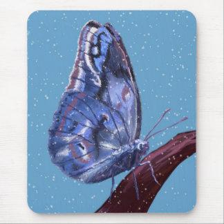 Tapis De Souris Papillon de neige