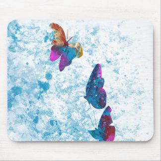 Tapis De Souris Papillon multi de couleur