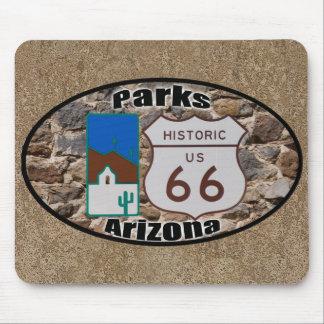 Tapis De Souris Parcs historiques Arizona de l'itinéraire 66 des