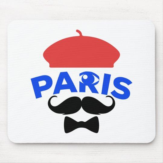 Tapis de Souris Paris by Ciel My Moustache