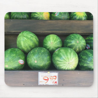 Tapis De Souris Pastèques à vendre le fruit de melon du marché de