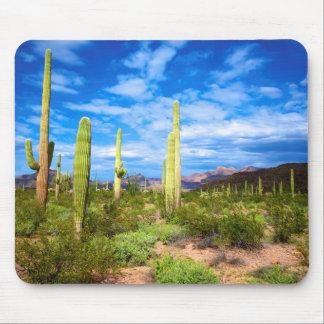 Tapis De Souris Paysage de cactus de désert, Arizona
