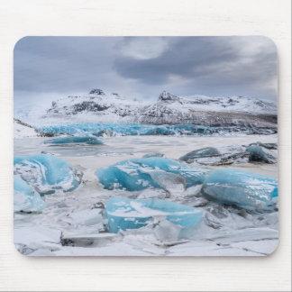 Tapis De Souris Paysage de glace de glacier, Islande