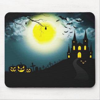 Tapis De Souris Paysage de Halloween