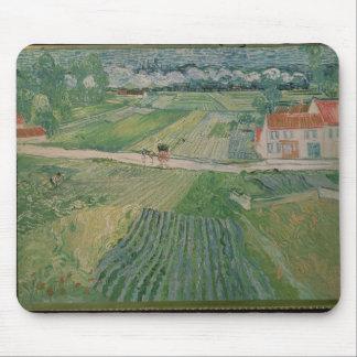 Tapis De Souris Paysage de Vincent van Gogh | chez Auvers