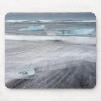 Tapis De Souris Paysage marin approximatif avec de la glace,