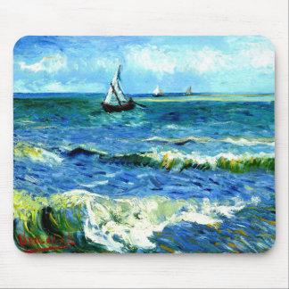 Tapis De Souris Paysage marin chez Saintes-Maries, Vincent van