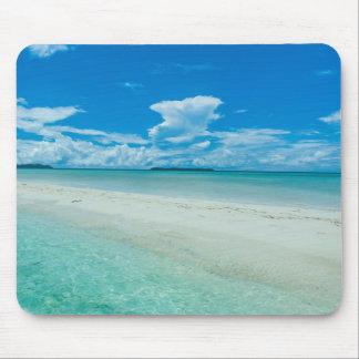 Tapis De Souris Paysage marin tropical bleu, Palaos