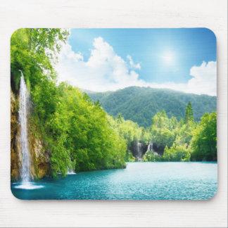 Tapis De Souris Paysage Mousepad de cascade