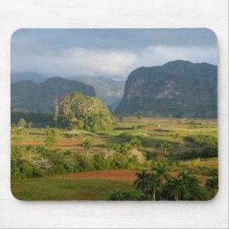Tapis De Souris Paysage panoramique de vallée, Cuba