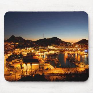 Tapis De Souris Paysage urbain de Cabo San Lucas au coucher du