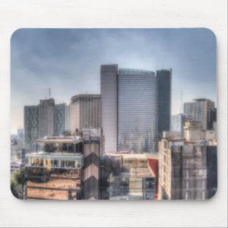 Tapis De Souris Paysage urbain panoramique de Mexico