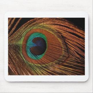 Tapis De Souris peacocks-plume-1red et or