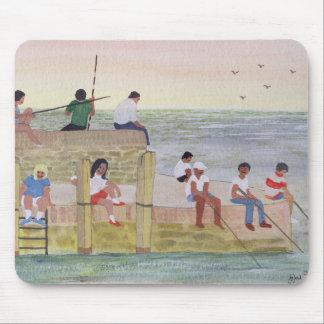 Tapis De Souris Pêche crépusculaire 1988
