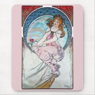 Tapis De Souris Peinture, Alphonse Mucha