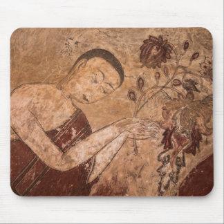 Tapis De Souris Peinture bouddhiste antique