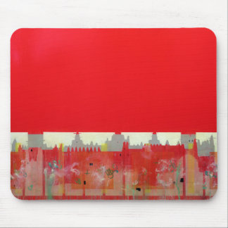 Tapis De Souris Peinture rouge