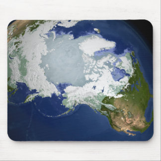 Tapis De Souris Pergélisol Circum-Arctique