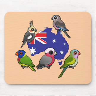 Tapis De Souris Perroquets australiens