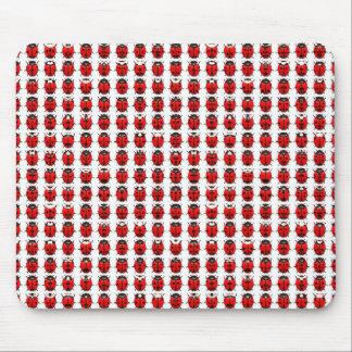 Tapis De Souris Petites coccinelles rouges