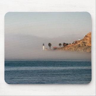 Tapis De Souris Phare dans le brouillard Mousepad