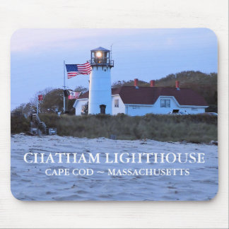 Tapis De Souris Phare de Chatham, le Massachusetts Mousepad