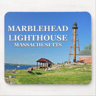 Tapis De Souris Phare de Marblehead, le Massachusetts Mousepad