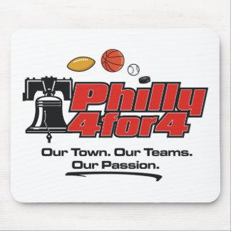 Tapis de souris - Philly 4 pour 4