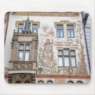 Tapis De Souris Photo de souvenir de Prague de Chambre de Storch