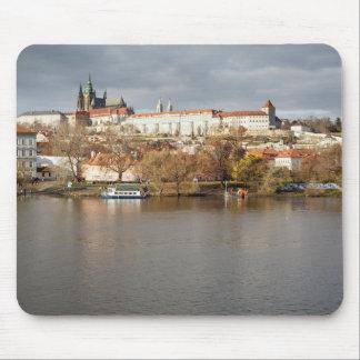 Tapis De Souris Photo de souvenir de vue de château et de rivière
