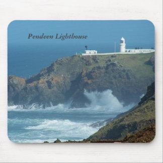 Tapis De Souris Photo des Cornouailles Angleterre de phare de