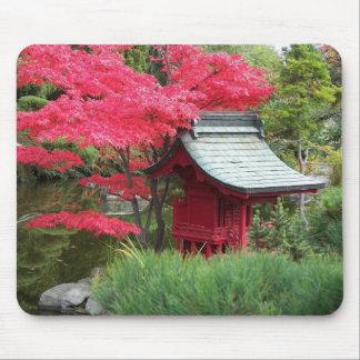 Tapis De Souris Photo japonaise de jardin d'automne