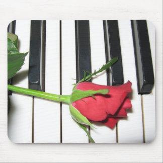 Tapis De Souris Piano rose Mousepad