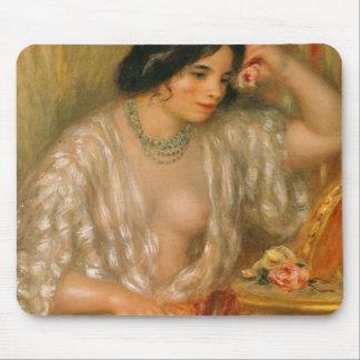 Tapis De Souris Pierre un Renoir | Gabrielle avec des bijoux