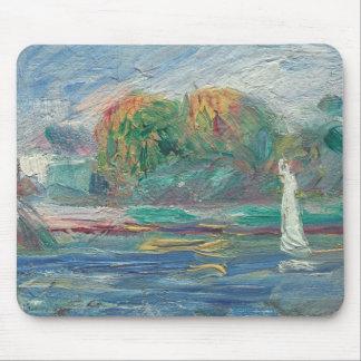 Tapis De Souris Pierre un Renoir | la rivière bleue