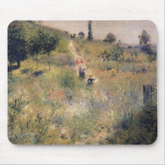 Tapis De Souris Pierre un Renoir   le chemin à travers la longue