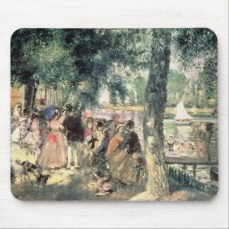 Tapis De Souris Pierre un Renoir   se baignant sur la Seine