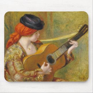 Tapis De Souris Pierre une jeune femme espagnole de Renoir | avec