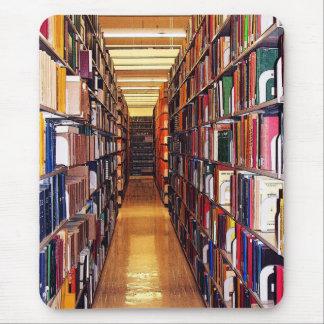 Tapis De Souris Piles de bibliothèque