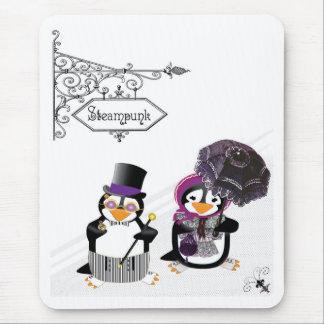 Tapis De Souris Pingouin Mousepad de Steampunk
