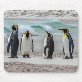 Tapis De Souris Pingouins lissant sur la plage