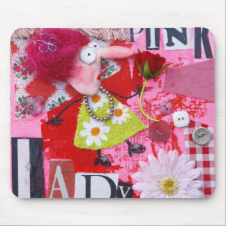 Tapis de souris Pink-lady