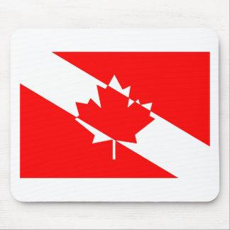 Tapis De Souris Piqué blanc rempli Canada