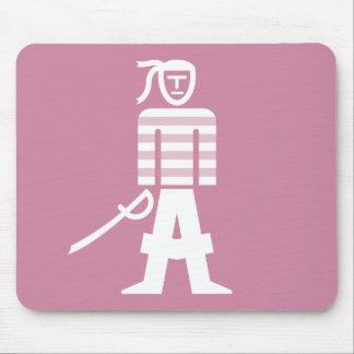 Tapis De Souris Pirate avec le puzzle Mousepad de sabre d'abordage